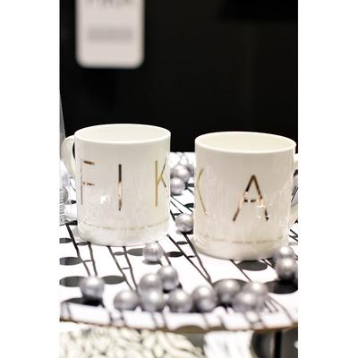 Fika mug, gold