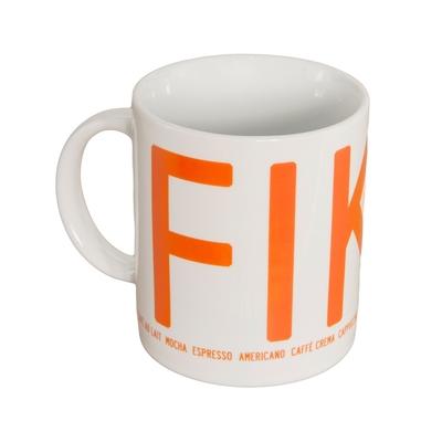 Fika mug, orange