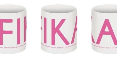 Fika mug, pink