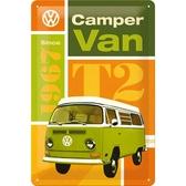 Metal sign - VW Camper van