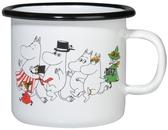 Moomin enamel mug 2,5 dl - Moomin valley - Colors