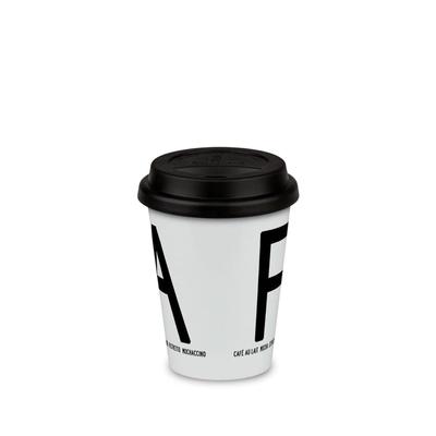 Fika take-away-mug, black