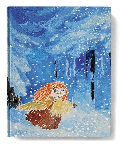 Skrivbok med blanka sidor, Moominland Midwinter Miffle