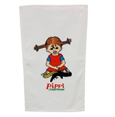 Kitchen towel Pippi, white