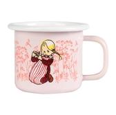 Enamel mug 1,5 dl - Ida, pink