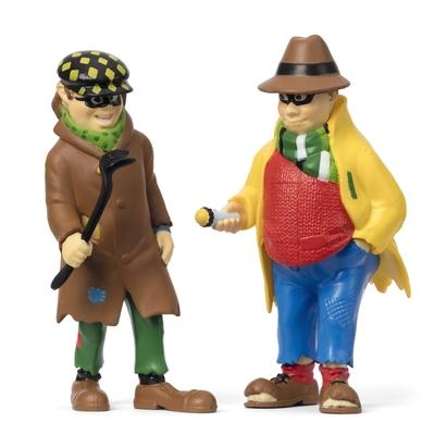 Dunderkarlsson och Blom figurset