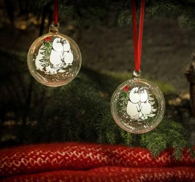 Mumin julkula i glas, Vinter Magi - Mumintrollet och Snorkfröken