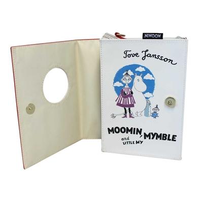 Mumin axelremsväska - Book Bag, röd