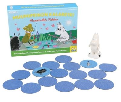 Moomin - Moomintroll on fishing