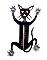 Temometer - Katt, svart