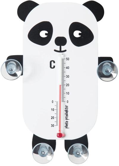 Temometer - Panda, svart/vit