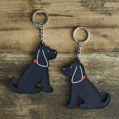 Keyring Cocker Spaniel, black