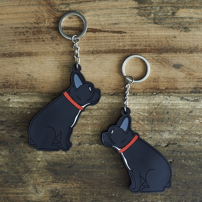 Nyckelring Fransk Bulldogg