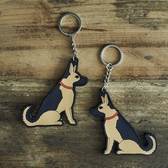 Keyring German Shepherd