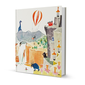 "Moomin hard cover notebook ""The exploits of Moominpappa"""