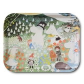 "Moomin tray ""Dangerous Journey"""
