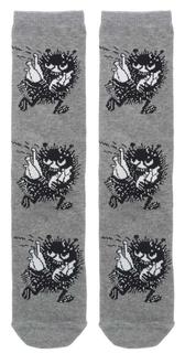 Moomin socks, man size - Stinky, grey