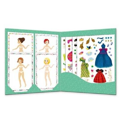 Djeco Sticker & paper dolls, Massive fashion