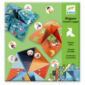 Origami - Fortune tellers, green
