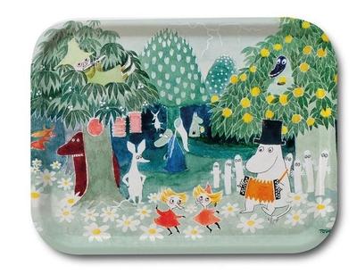 "Moomin tray ""The Magician's hat"""