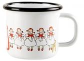 Elsa Beskow Lingonberries enamel mug 1,5 dl