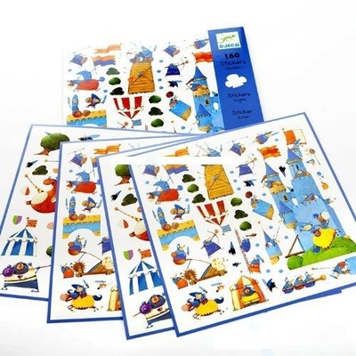 Stickers Riddare, 160 st