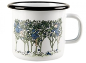 Elsa Beskow Blueberries enamel mug 2,5 dl