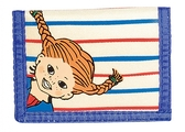 Pippi wallet, blue/white