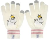 Moomin Touch Screen gloves - Snorkmaiden, white
