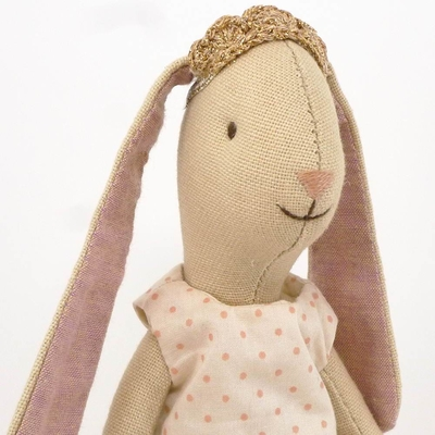 Maileg  - Mini, kanin Prinsessa Rose