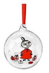 Moomin Christmas ball, Winter Magic - Little My