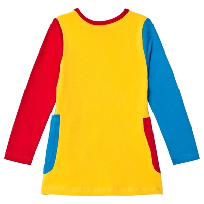 Pippi tunic with pockets, Swedish text