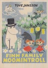 Moomin wooden wall art - Finn Family Moomintroll