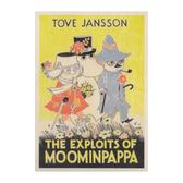 Moomin wooden wall art - The exploits of Moominpappa