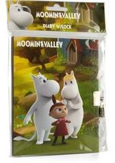 Moomin diary with lock, Moomin Valley