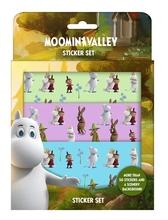 Moomin sticker set, Moomin Valley