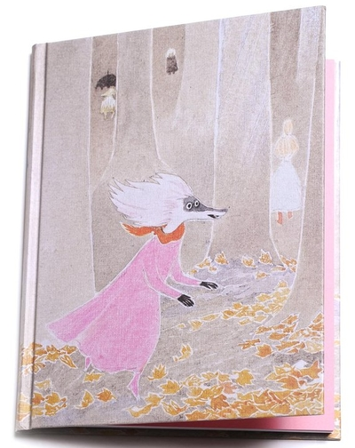"Moomin hard cover notebook ""The Moominvalley in November"""