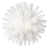 Snow flower 44 cm, white