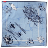 Mumin snusnäsduk/scarf, blå