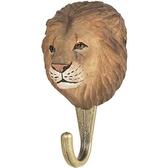 Handcarved hook Lion
