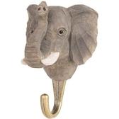 Handcarved hook Elephant