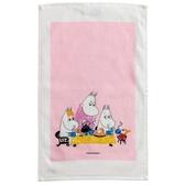 Mini Terry Moomin Tea Party, pink