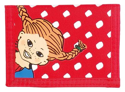 Pippi plånbok, röd