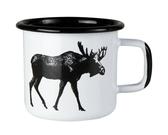 Nordic enamel mug 3,7 dl - Moose