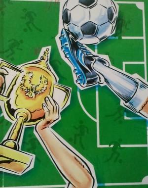 Fotbollsboken, med eller utan personlig bild.