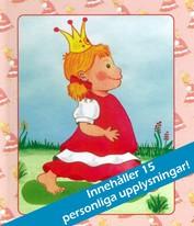 Babybok flicka, med eller utan personlig bild