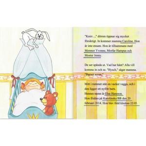Babybok för ensam mamma, med eller utan personlig bild