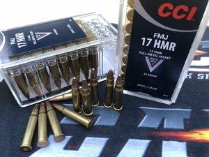 CCI .17 HMR FMJ