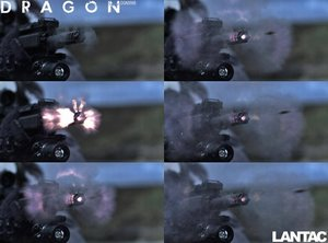 """Lantac Dragon .223, ½""""x28 BLK"""