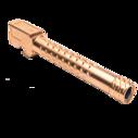 ZEV Match Grade Barrel G17, Dimpled, Suppressor Threaded, Bronze